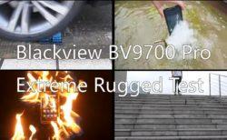 Blackview BV9700 Pro 耐久テスト Indiegogo