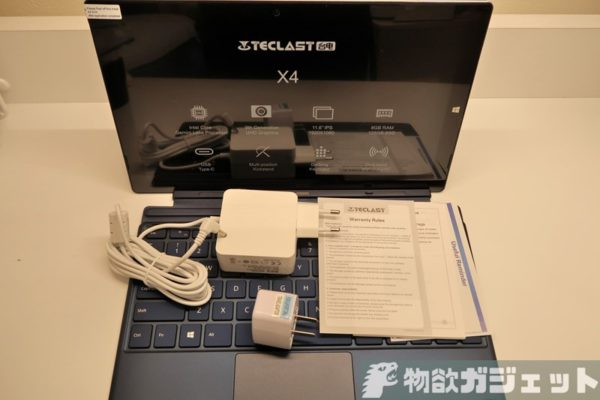 TECLAST X4 Surface風2in1タブレット レビュー