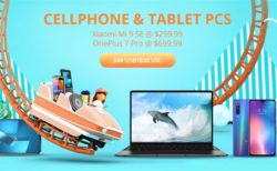 OnePlus 7 Pro/OnePlus 7/ZenFone 6などが割引中~Gearbestでミッドイヤー「スマートフォン&タブレットセール」が開催中
