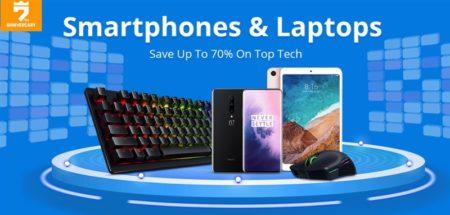 Geekbuyingで「7周年 スマートフォン&ラップトップPC」セール開催中~更にOneNotebook OneMix1Sも発売記念セール