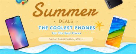 Geekbuyingで「夏のスマートフォンセール」開催中~Xiaomi Mi9やゲーミングスマホ 8製品がクーポンで割引に