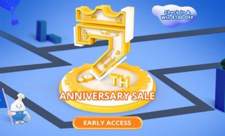 GeekbuyingでOnePlus 7 Proが651.99ドルなど「7周年 アニバーサリーセール」開催中~更にXiaomi Mi Play等がクーポンで割引に