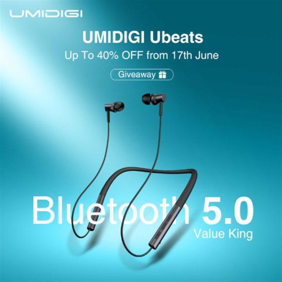 ネックバンドイヤホン「UMIDIGI Ubeats」