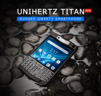 Unihertz Titan Kickstarter キーボード スマートフォン