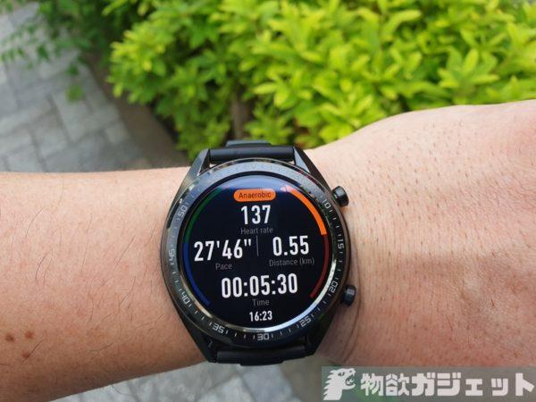 HUAWEI Watch GT Sports レビュー 価格 実機