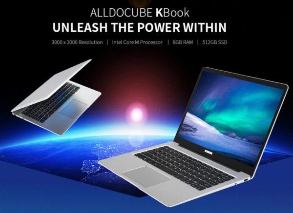 ALLDOCUBE Kbook 3K解像度 ノートPC 価格 スペック