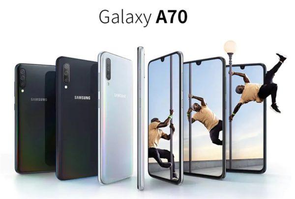 Galaxy A70 価格 スペック