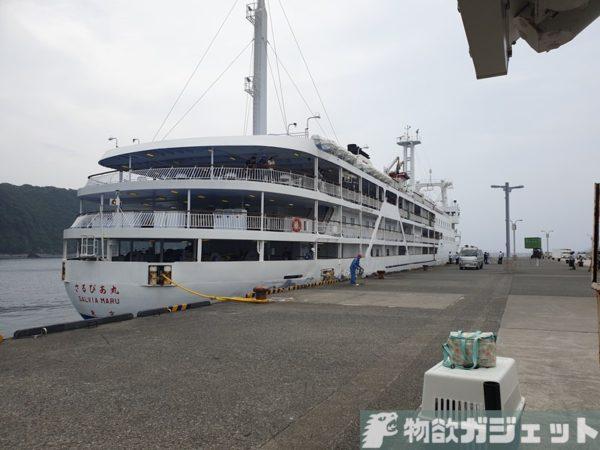 伊豆大島 ジェット船 旅行記 台風 欠航