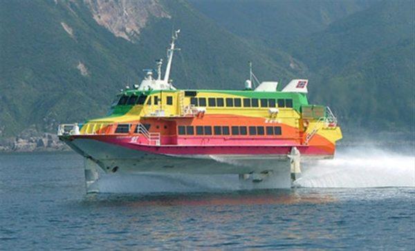 伊豆大島 ジェット船 旅行記