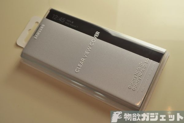 Galaxy Note10 Plus 純正カバー Clear View Phone Cover レビュー