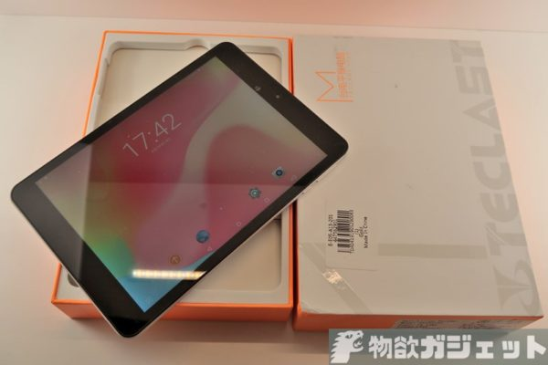 TECLAST M89 Pro iPad miniクローン レビュー