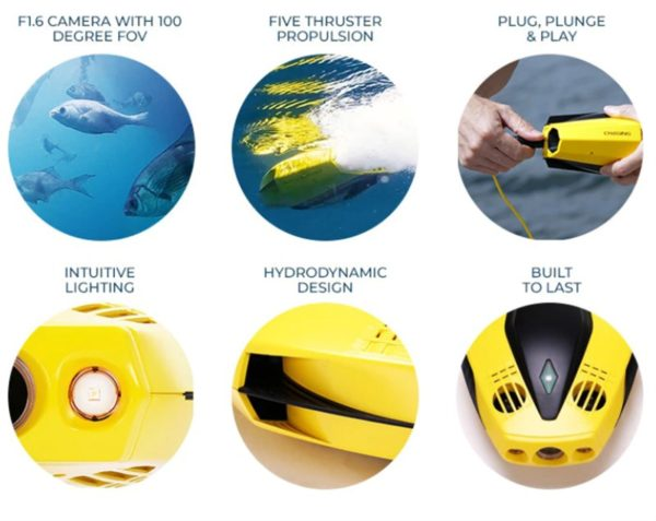 CHASING DORY Underwater Drone 水中ドローン