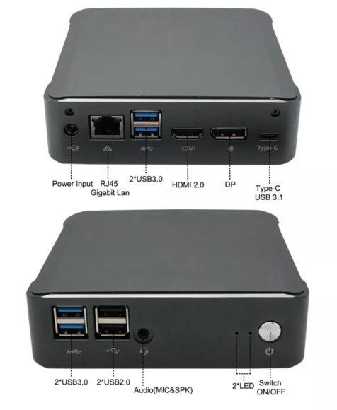NVISEN Y-MU01  mini PC 価格 スペック