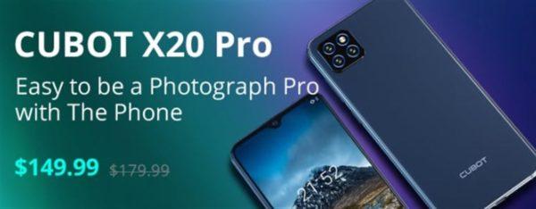 CUBOT X20 Pro セール