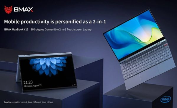 BMAX MaxBook Y13 コンバーチブル ラップトップPC 価格 スペック