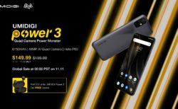 UMIDIGI Power3 比較 Redmi Note8 Pro