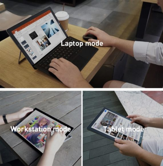 CHUWI UBook Pro Indiegogo 2in1 タブレット