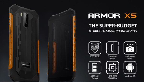Ulefone Armor X5 価格 スペック タフネススマホ