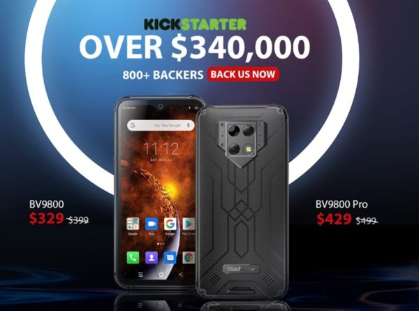Blackview BV9800 Pro タフネススマホ Kickstarter