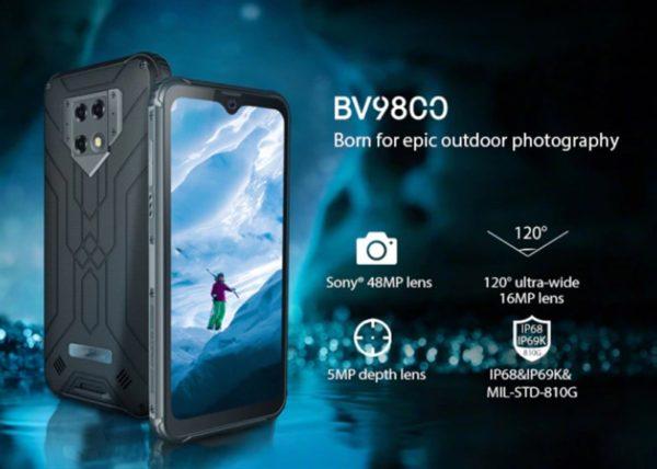 Blackview BV9800  タフネススマホ Kickstarter