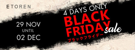 ETOREN「4日間限りのブラックフライデーセール」開催中~海外SIMフリー機/タブレットがセール価格