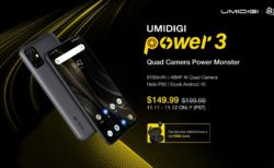 UMIDIGI Power3 11.11セール