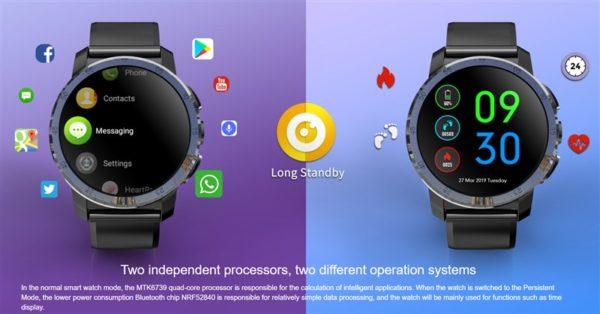 KOSPET Optimus Pro スマートウォッチ 価格 スペック Android