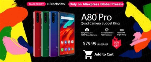 Blackview A80 Pro 価格 スペック