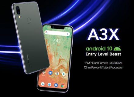 UMIDIGI A3X 価格 スペック LTE B19
