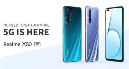 OPPO realme X50 5G 価格 スペック