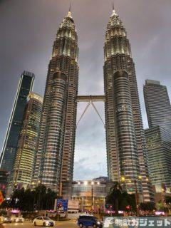 【マレーシア旅行記:クアラルンプール編】初日はマレーシア航空で快適移動だが夜はいまいち