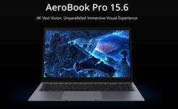 【Early Birdで20% OFF】遂にスタート!15.6インチで4Kディスプレイ搭載『CHUWI AeroBook Pro 15.6(AeroBook Plus)』がIndiegogoでクラウドファンディング開始! : PR