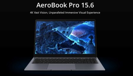 【Early Birdで20% OFF】遂にスタート!15.6インチで4Kディスプレイ搭載『CHUWI AeroBook Pro 15.6』がIndiegogoでクラウドファンディング開始! : PR