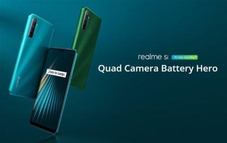 OPPO 「realme 5i」発売~クアッドカメラにスナドラ665に5000mAhバッテリーで1.5万円以下の衝撃価格