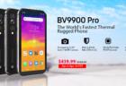 サーマルカメラ搭載タフネススマホ「Blackview BV9900 Pro」が110ドルOFFセールを4月4日からスタート