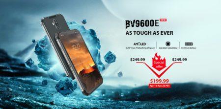 タフネススマホ「Blackview BV9600E」が発売~スペックアップ+お値段199.99ドルに下げて発売