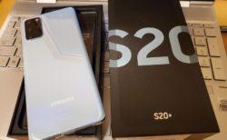 【実機レビュー】「Galaxy S20+(Plus)」自腹購入ファースト・インプレッション~S10 Plusと比較してみた