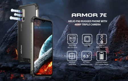 タフネススマホ最高峰に廉価版が~「Ulefone Armor 7E」発売開始~1万円以上も安くなった