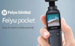 【約1.7万円】わずか115gの片手ジンバルカメラ「Feiyu Pocket」発売~6軸スタビライザー/3脚OK/4K 60fpsが可能でお値段もリーズナブル