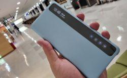 【実機レビュー】Galaxy S20 Plus Clear View Cover~軽量な手帳型のケースを探しているならこれ一択でもいい