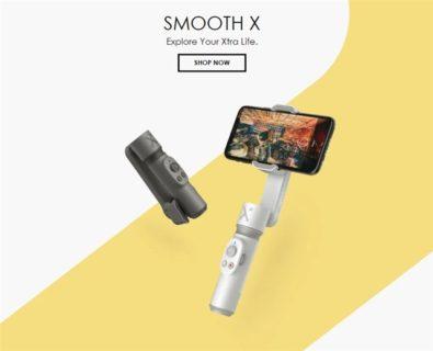 更に小型に!折り畳み&自撮り棒付スマホジンバル「ZHIYUN SMOOTH X」が6000円台で発売中