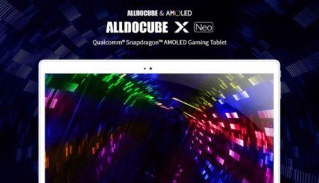 【キーボード付クーポン追加】久々の凄タブ!SD 660/10.5 2.5K AMOLEDディスプレイ搭載タブ「ALLDOCUBE X NEO」発売