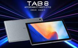 【クーポン追加】スマホメーカーが作ったタブレット「Blackview TAB8」が発売~125ドルと低価格ながらデザインがいい