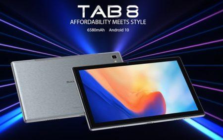 スマホメーカーが作ったタブレット「Blackview TAB8」が発売~125ドルと低価格ながらデザインがいい