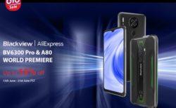 Blackview新製品BV6300 Pro/A80が大幅割引&90ドルOFFクーポンで半額も「ミッドイヤーセール」開催