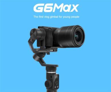 スマホから一眼レフまで使えるジンバル「FeiyuTech G6 Max」発売中~輸入なら1万円以上安い