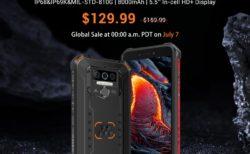 LTE B19対応タフネススマホが129.99ドル! 「OUKITEL WP5 Pro」が発売~IP68/69K防水防塵で超タフネス