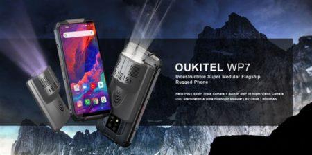 【クーポン追加】ナイトビジョンカメラ搭載タフネススマホ「OUKITEL WP7 」発売~アタッチメント追加もできる変態スマホ