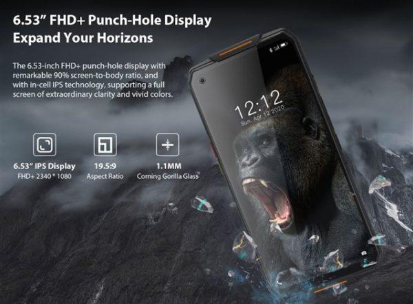 ナイトカメラ搭載タフネススマホ「OUKITEL WP7 」が4日間150ドルOFFの299.99ドル~4G B19対応/Helio P90/8GB RAM構成でこの価格は安い