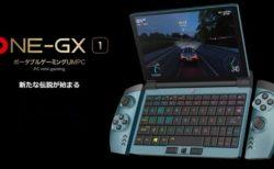 任天堂Switchのようにゲームコントローラーが付けられるPC「One-Netbook OneGx1 」発売